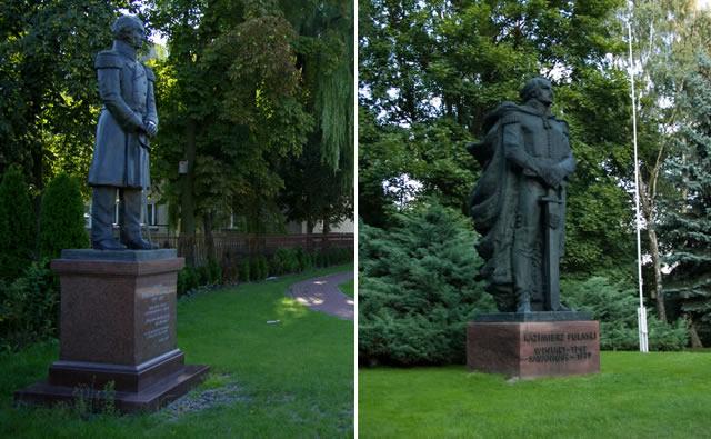 pomniki Wysocki, Puławski