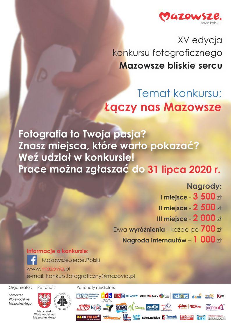 Wszelkie informacje o konkursie można otrzymać pod nr tel. (22) 59 79 532 i (22) 59 79 534 lub wysyłając pytania na adres e-mail: konkurs.fotograficzny@mazovia.pl