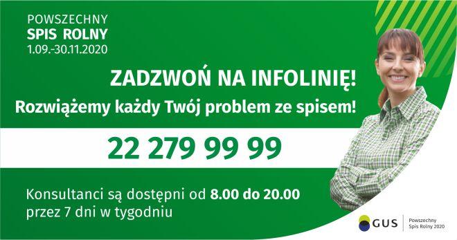 Masz problem ze spisem rolnym? Dzwoń na infolinię pod numer 22 279 99 99