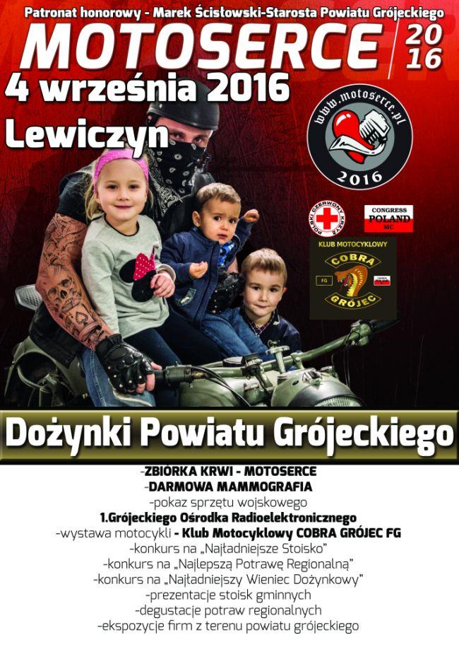 Akcja zbiórki krwi podczas Dożynek Powiatowych w Lewiczynie
